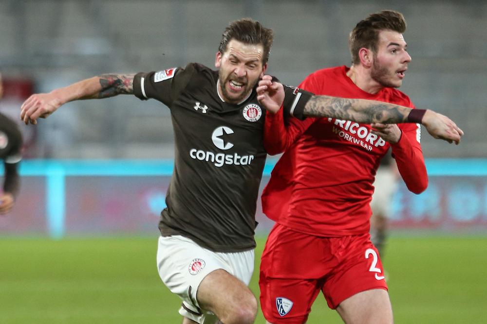 Fussball: 2. Bundesliga, FC St. Pauli - VFL Bochum, Hamburg, 28.01.2021<br /> <br /> © Torsten Helmke