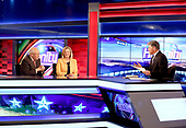 """Former Vice President Dick Cheney And His Daughter Liz Cheney Visit FOX News' """"Hannity"""""""