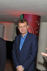 HUGH DENNIS at the 2011 Costa Book Awards held at Quaglino's, 16 Bury Street, London on 24th January 2012.