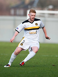 Dumbarton's Scott Smith..Dumbarton 0 v 2 Falkirk, 23/2/2013..©Michael Schofield.