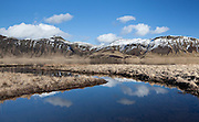 Heidarvatn near Vik in Myrdalur