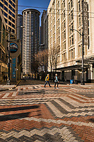 Fifth Avenue & Pine Street, Downtown (March 21, 2020).