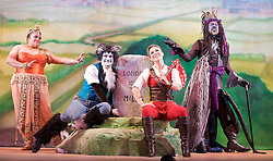 Dick Whittington<br /> and his cat <br /> written and directed by Susie McKenna <br /> at The Hackney Empire, London, Great Britain <br /> 3rd December 2012 <br /> <br /> Joanna Riding as Dick Whittington<br /> <br /> Steve Elias as Sarah The Cook<br /> <br /> Kat B as King Rat <br /> <br /> Stephen Emery as Puss<br /> <br /> Alexia Khadime as Alice<br /> <br /> Tony Whittle as Fitzwarren<br /> <br /> Darren Hart as Idle Jack <br /> <br /> RinDick Whittington<br /> and his cat <br /> written and directed by Susie McKenna <br /> at The Hackney Empire, London, Great Britain <br /> 3rd December 2012 <br /> <br /> Joanna Riding as Dick Whittington<br /> <br /> Steve Elias as Sarah The Cook<br /> <br /> Kat B as King Rat <br /> <br /> Stephen Emery as Puss<br /> <br /> Alexia Khadime as Alice<br /> <br /> Tony Whittle as Fitzwarren<br /> <br /> Darren Hart as Idle Jack <br /> <br /> Rina Fatania as Fairy Bowbells<br /> <br /> Photograph by Elliott FranksDick Whittington<br /> and his cat <br /> written and directed by Susie McKenna <br /> at The Hackney Empire, London, Great Britain <br /> 3rd December 2012 <br /> <br /> Joanna Riding as Dick Whittington<br /> <br /> Steve Elias as Sarah The Cook<br /> <br /> Kat B as King Rat <br /> <br /> Stephen Emery as Puss<br /> <br /> Alexia Khadime as Alice<br /> <br /> Tony Whittle as Fitzwarren<br /> <br /> Darren Hart as Idle Jack <br /> <br /> Rina Fatania as Fairy Bowbells<br /> <br /> Photograph by Elliott Franksa Fatania as Fairy Bowbells<br /> <br /> Photograph by Elliott Franks