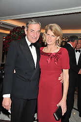 LUCA & SARA CUMANI at the 22nd Cartier Racing Awards held at The Dorchester, Park Lane, London on 13th November 2012.