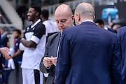 DESCRIZIONE : Trento Beko All Star Game 2016<br /> GIOCATORE : Maurizio Buscaglia Massimiliano Menetti<br /> CATEGORIA : Fair Play Allenatore Coach Before Pregame<br /> EVENTO : Beko All Star Game 2016<br /> GARA : Beko All Star Game 2016<br /> DATA : 10/01/2016<br /> SPORT : Pallacanestro <br /> AUTORE : Agenzia Ciamillo-Castoria/L.Canu