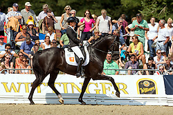 Scholtens Emmelie (NED) - Desperado<br /> FEI World Dressage Championships for Young Horses<br /> Internationales Dressur- und Springfestival - Verden 2014<br /> © Dirk Caremans