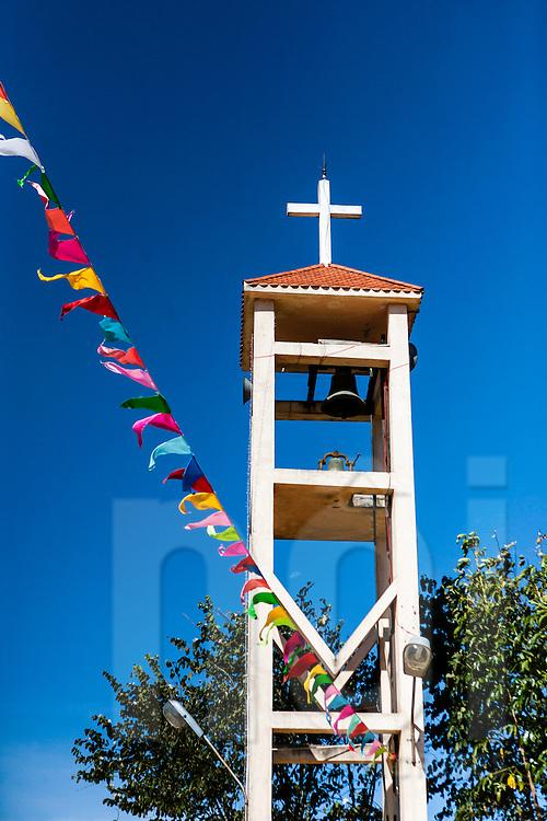 Catholic church in Lang Biang Mountain, Da Lat area, Vietnam, Southeast Asia