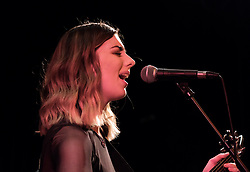 Actor, singer-songwriter and guitarist Laurence Fox performs at the Voodoo Rooms in Edinburgh on 19 February 2020<br /> <br /> Pictured:  Support act Alannah Moar<br /> <br /> Alex Todd   Edinburgh Elite media