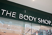 Sign for the brand The Body Shop in Birmingham, United Kingdom. The Body Shop International Limited, trading as The Body Shop, is a British cosmetics, skin care and perfume company that was founded in 1976.