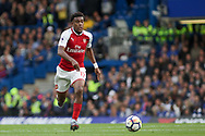 Alex Iwobi of Arsenal in action. Premier league match, Chelsea v Arsenal at Stamford Bridge in London on Sunday 17th September 2017.<br /> pic by Kieran Clarke, Andrew Orchard sports photography.