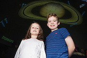 27/11/2016 REPRO FREE:  <br /> Grace and Michael Connolly Monivea  in NUI Galway for the exhibition and fun day day of the Galway Science & Technology Festival. <br /> Photo: Andrew Downes, Xposure.