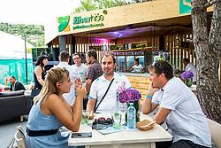 VIP Lounge Ziher hise at Day 9 of ATP Challenger Zavarovalnica Sava Slovenia Open 2019, on August 17, 2019 in Sports centre, Portoroz/Portorose, Slovenia. Photo by Vid Ponikvar / Sportida