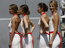 May 27, 2017 - Monte Carlo, Monaco - Motorsports: FIA Formula One World Championship 2017, Grand Prix of Monaco, .grid girls  (Credit Image: © Hoch Zwei via ZUMA Wire)