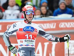 20.12.2013, Saslong, Groeden, ITA, FIS Ski Weltcup, Groeden, Herren, SuperG, im Bild Joachim Puchner (AUT) // Joachim Puchner of Austria reacts at the finish area during mens Super-G of the Groeden FIS Ski Alpine World Cup at the Saslong Course in Gardena, Italy on 2012/12/20. EXPA Pictures © 2013, PhotoCredit: EXPA/ Johann Groder