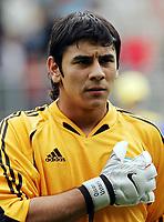 Fotball <br /> FIFA World Youth Championships 2005<br /> Enschede<br /> Nederland / Holland<br /> 11.06.2005<br /> Foto: Morten Olsen, Digitalsport<br /> <br /> USA v Argentina 1-0<br /> <br /> Oscar Ustari - Argentina