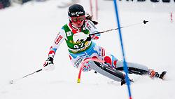 MARMOTTANAnemone of France during 1st Run of 50th Golden Fox Audi Alpine FIS Ski World Cup Ladies Slalom, on February 2, 2014 in Podkoren, Kranjska Gora, Slovenia. (Photo By Urban Urbanc / Sportida.com)