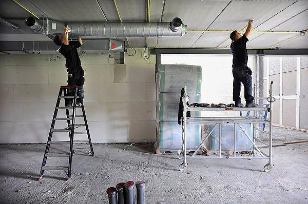 Nederland, Ubbergen, 23-9-2010Nieuwbouw van middelbare school, Havo Notre Dame.Foto: Flip Franssen/Hollandse Hoogte