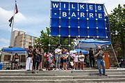 Wilkes-Barre, PA (July 11, 2020) -- Pennsylvania State Representative Eddie Day Pashinski speaks at the Black Lives Matter NEPA United Movement event on Public Square.