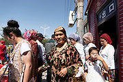 Old market of Kashga, Xinjiang. This market is an expression of the tradional trades of Uighurs. NATACHA DE MAHIEU