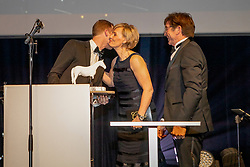 Athlete of the Year, Niels Bruynseels, Nena Verlooy, Eddy De Smedt<br /> Equigala - Dockx Dome - Brussel 2019<br /> © Hippo Foto - Dirk Caremans<br /> 22/01/2019