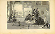 Favourite Of The Harem From the book ' The Oriental annual, or, Scenes in India ' by the Rev. Hobart Caunter Published by Edward Bull, London 1835 engravings from drawings by William Daniell