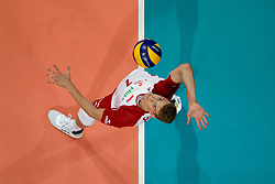 23-09-2019 NED: EC Volleyball 2019 Poland - Germany, Apeldoorn<br /> 1/4 final EC Volleyball Poland win 3-0 / Artur Szalpuk #7 of Poland