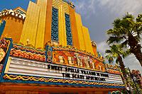 Beverly Sunset marquee, Disney's Hollywood Studios, Walt Disney World, Orlando, Florida USA