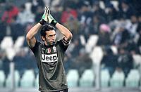Gianluigi Buffon  Juventus.Calcio  Juventus vs Udinese.Campionato Serie A - Torino 19/1/2013 Juventus Stadium.Football Calcio 2012/2013.Foto Federico Tardito Insidefoto