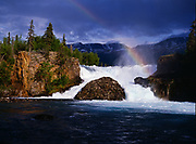 Tanalian Falls, Lake Clark National Park and Preserve, Alaska.
