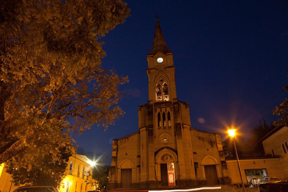 Goias Velho_GO, Brasil...Imagens da cidade de Goias Velho, Goias. Na foto, Igreja do Rosario...Rosario church in Goias Velho, Goias...Foto: ALEXANDRE BAXTER / NITRO