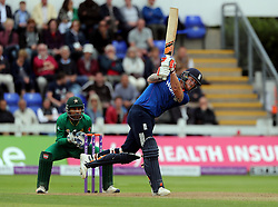 England's Ben Stokes during the Fifth Royal London One Day International at the SSE SWALEC Stadium, Cardiff.