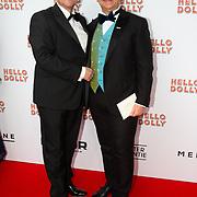 NLD/Rotterdam/20200308 - Premiere Hello Dolly, Jon van Eerd en partner Ton Fiere
