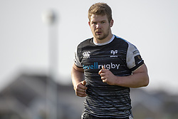 March 2, 2019 - Galway, Ireland - Olly Cracknell of Ospreys during the Guinness PRO 14 match  between Connacht Rugby and Ospreys at the Sportsground in Galway, Ireland on March 2, 2019  (Credit Image: © Andrew Surma/NurPhoto via ZUMA Press)