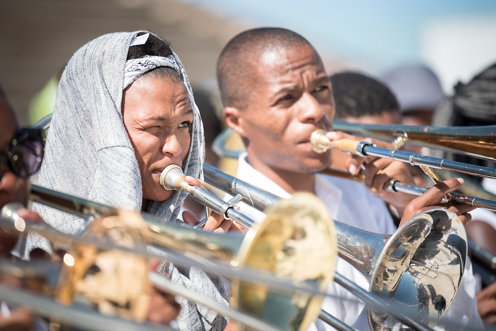 """14 May 2017, Windhoek, Namibia: Thousands of Lutherans and guests gathered for a festival of worship, witness and song and word and sacrament in Sam Nujoma Stadium on Sunday, May 14th to mark commemoration of the 500th Anniversary of the Lutheran Reformation in Windhoek, Namibia. Marking the Reformation as global citizen, the worship event drew music, stories, and leadership from the churches of every continent. The service formed a high point of the Twelfth Assembly of the Lutheran World Federation, in Windhoek, Namibia, on 10-16 May 2017, under the theme """"Liberated by God's Grace"""", bringing together some 800 delegates and participants from 145 member churches in 98 countries."""