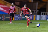 Lincoln City Midfielder James Jones (8) during the EFL Sky Bet League 1 match between Lincoln City and Shrewsbury Town at Sincil Bank, Lincoln, United Kingdom on 15 December 2020.
