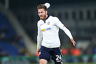 James Henry of Bolton Wanderers celebrates after scoring his sides 1st goal. Emirates FA Cup 3rd round replay match, Crystal Palace v Bolton Wanderers at Selhurst Park in London on Tuesday 17th January 2017.<br /> pic by John Patrick Fletcher, Andrew Orchard sports photography.