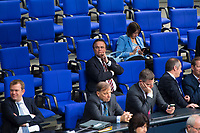 DEU, Deutschland, Germany, Berlin, 21.11.2018: Hans-Peter Friedrich (MdB, CSU) während einer Plenarsitzung im Deutschen Bundestag.