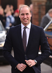File photo dated 30/11/16 of the Duke of Cambridge who has become patron of the Metropolitan & City Police Orphans Fund.