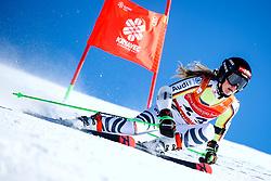 Lisa Marie Loipetssperger (GER) during giant slalom race at FIS European Cup Krvavec 2021, February 2, 2021 in Krvavec, Cerklje na Gorenjskem, Slovenia. Photo by Matic Klansek Velej / Sportida