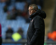 Chris Wilder manager of Sheffield Utd during the English League One match at the Rioch Arena Stadium, Coventry. Picture date: December 15th, 2016. Pic Simon Bellis/Sportimage