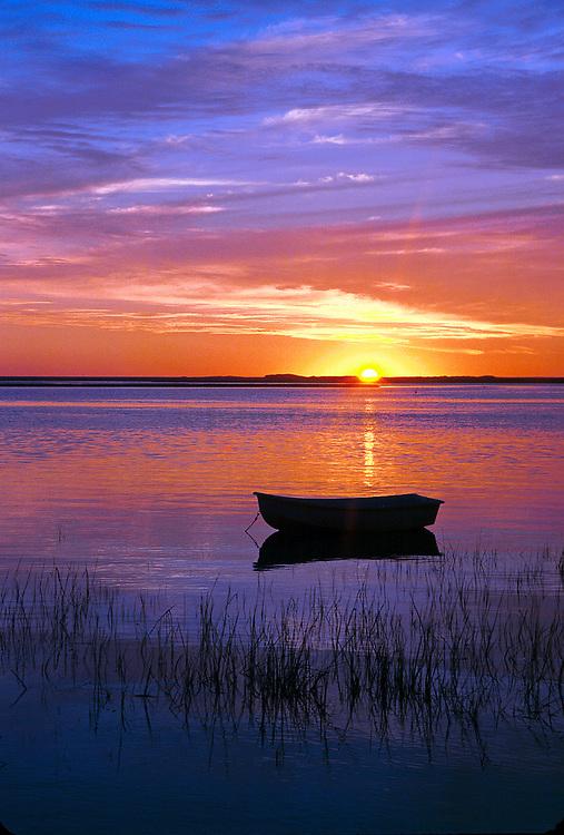 Sunrise over Nauset Harbor, Orleans, Cape Cod, MA
