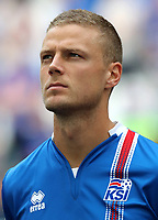 Uefa - World Cup Fifa Russia 2018 Qualifier / <br /> Iceland National Team - Preview Set - <br /> Ragnar Sigurdsson
