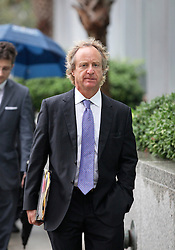 12 June  2015. New Orleans, Louisiana. <br /> Attorney Randy Smith acting for Ryan, Renee LeBlanc and Rita Benson LeBlanc at Civil Distrcit Court on the last day of a hearing to determine the competency of Tom Benson. Benson is the billionaire owner of the NFL New Orleans Saints, the NBA New Orleans Pelicans, various auto dealerships, banks, property assets and a slew of business interests. Rita, her brother and mother demanded a competency hearing after Benson changed his succession plans and decided to leave the bulk of his estate to third wife Gayle, sparking a controversial fight over control of the Benson business empire.<br /> Photo©; Charlie Varley/varleypix.com
