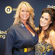 NLD/Amsterdam/20151015 - Televiziergala 2015, Anna-Alicia Skilias en manager Jose Vreeswijk