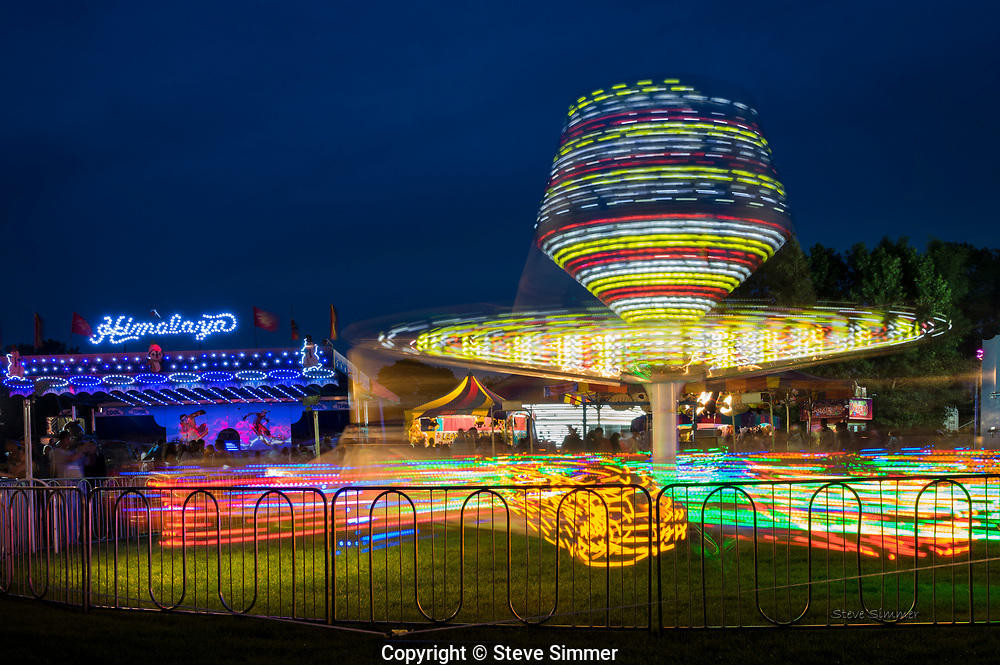 I love the patterns that can be found in slow exposures of carnival rides.