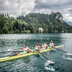 20170713: SLO, Rowing - Slovenian athletes 25-years after Olympic medals in Barcelona 1992