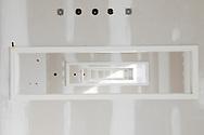 Nederland, Den Bosch, 20091014..Nieuwbouw van het Jeroen Bosch Ziekenhuis in Den Bosch. .Architect: EGM Architecten.Het nieuwe ziekenhuis dient als vervanging voor de huidige ziekenhuizen: Groot Zieken Gasthuis, Carolus en Willem Alexander. Het ziekenhuis zal een capaciteit krijgen van 730 bedden..Gezondheidspark Willemspoort-Midden.Bij het ziekenhuis komt het Zorgpark Willemspoort. Een gemengde wijk, waarin wonen, bedrijvigheid, onderwijs en winkels/dienstverlening geïntegreerd worden. ..Netherlands, Den Bosch, 20091014. ?Construction of the Jeroen Bosch Hospital in Den Bosch. Architect: Architects EGM ?The new hospital is to replace the current hospitals: Groot Zieken Gasthuis, Carolus en Willem Alexander. The hospital will have a capacity of 730 beds. ?Health-Central Park Willemspoort ?Near the hospital a Care Park, Willemspoort will be build. Mixed neighborhoods, where housing, business, education and shopping / services are integrated. ? Architecture Building Health Care Hospital