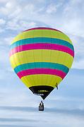 'Sinbad' in flight, Crown of Maine Balloon Fair, Presque Isle, Maine.
