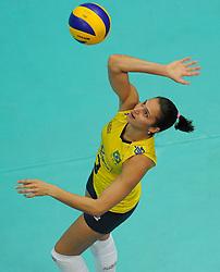 27-08-2010 VOLLEYBAL: WGP FINAL BRAZIL - USA: BEILUN NINGBO<br /> USA beats Brazil in five sets / Danielle Lins<br /> ©2010-WWW.FOTOHOOGENDOORN.NL