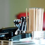 Office supply kept on desk